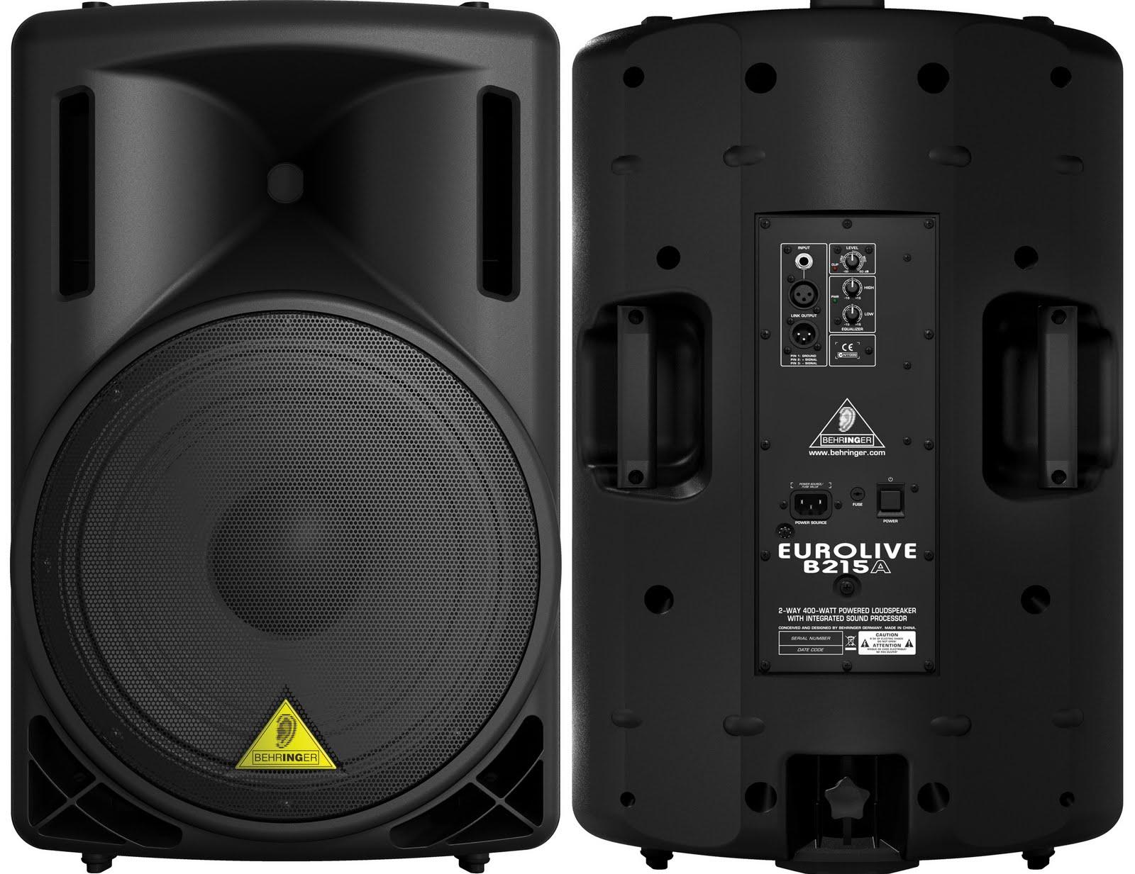 400 Watt - Powered Loudspeaker
