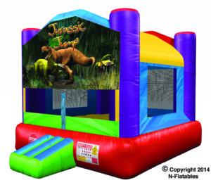 Jurassic Dinosaur Bounce