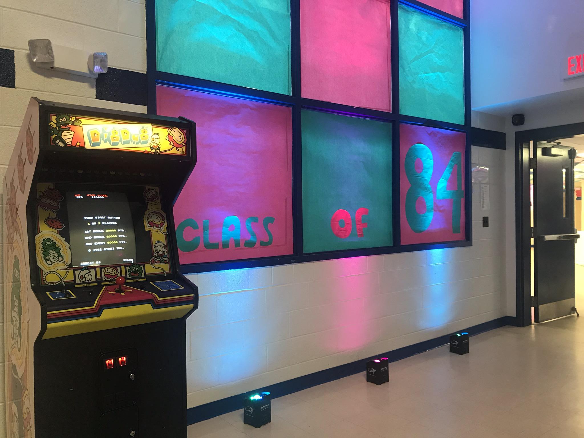 80s Arcade Game